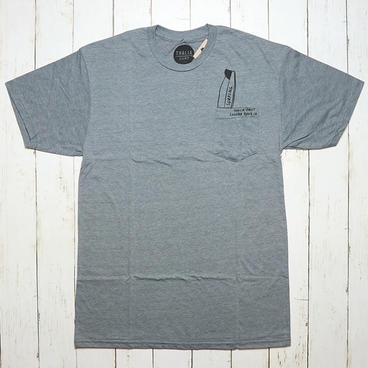[クリックポスト対応] THALIA SURF タリアサーフ TOMBSTONE D TEE ポケット付き半袖Tシャツ