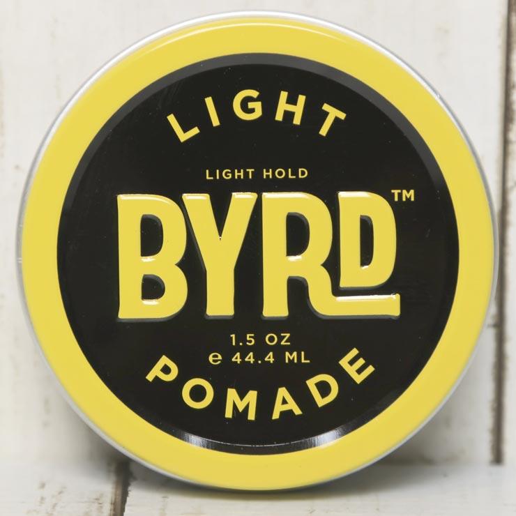 [クリックポスト対応] BYRD バード  LIGHT POMADE 1.5OZ 42g バード ライトポマード 水性