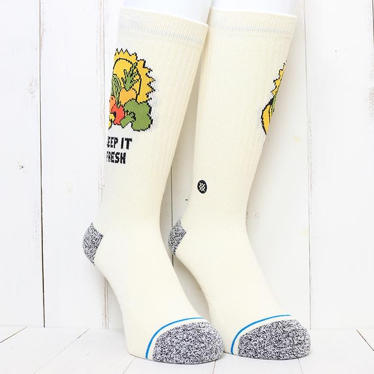 [クリックポスト対応] STANCE スタンス KEEP IT FRESH SOCKS ソックス 靴下 A556A21FRE