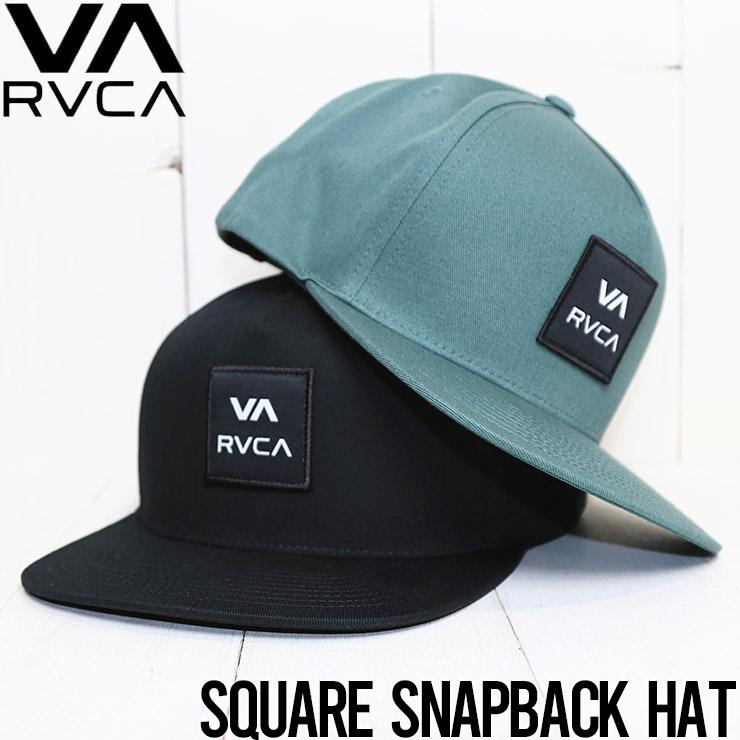 【送料無料】 RVCA ルーカ SQUARE SNAPBACK HAT スナップバックキャップ 帽子 ハット VYHA00152