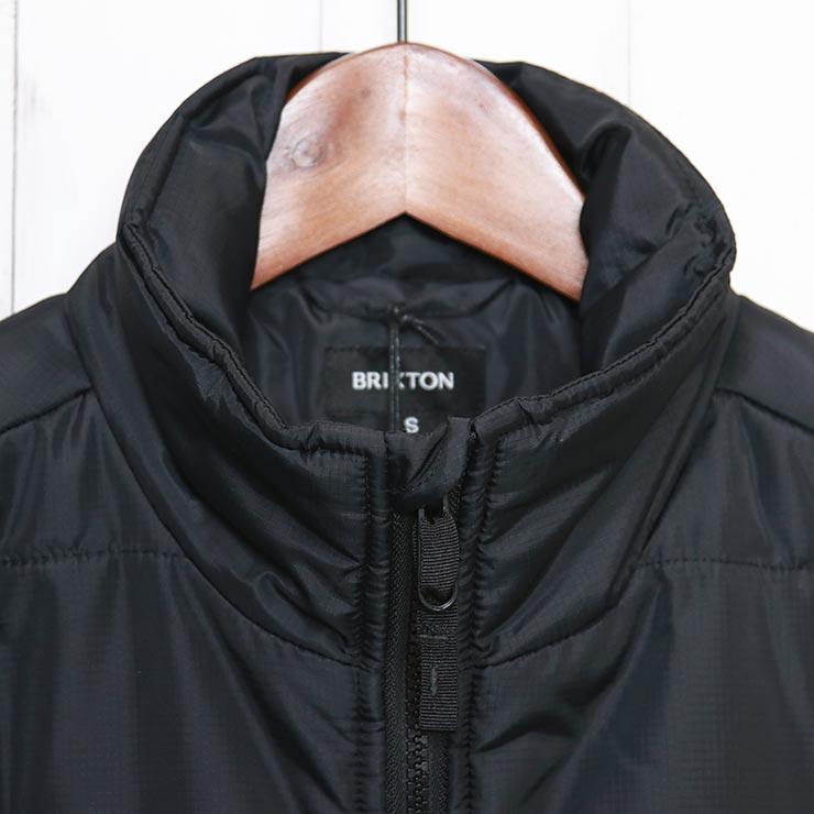 【送料無料】 BRIXTON ブリクストン CASS PUFFER JACKET ジャケット 03286 BLACK [FB]