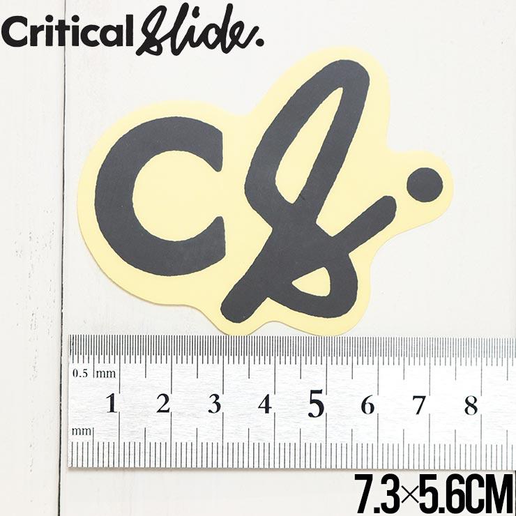 【送料無料】Critical Slide クリティカルスライド TCSS ティーシーエスエス STICKER ステッカー The Critical Slide Society STICKV9 #13