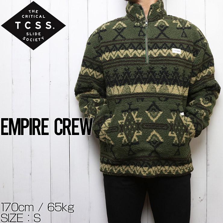 TCSS ティーシーエスエス EMPIRE CREW ハーフジップフリース FC1875