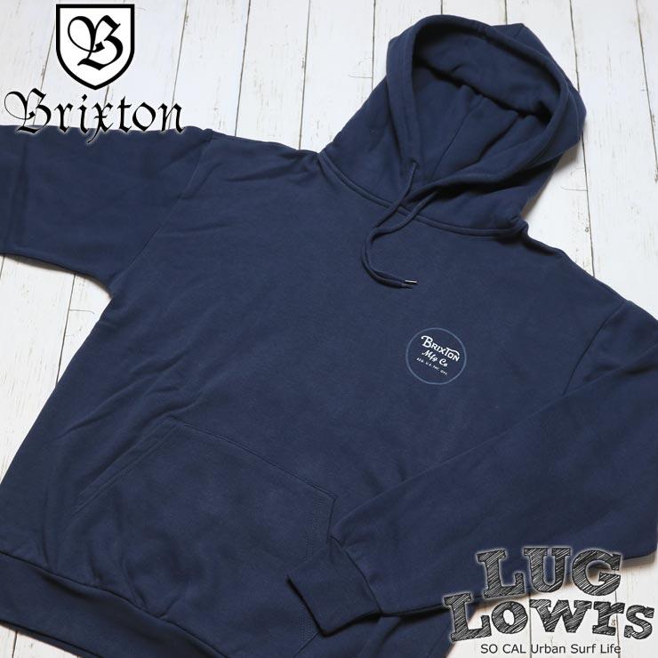 BRIXTON ブリクストン WHEELER HOOD プルオーバーパーカー 02416 WANAV
