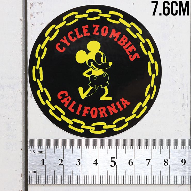 [クリックポスト対応] Cycle Zombies サイクルゾンビーズ CZ STICKER ステッカー CZ-STK-001 #8