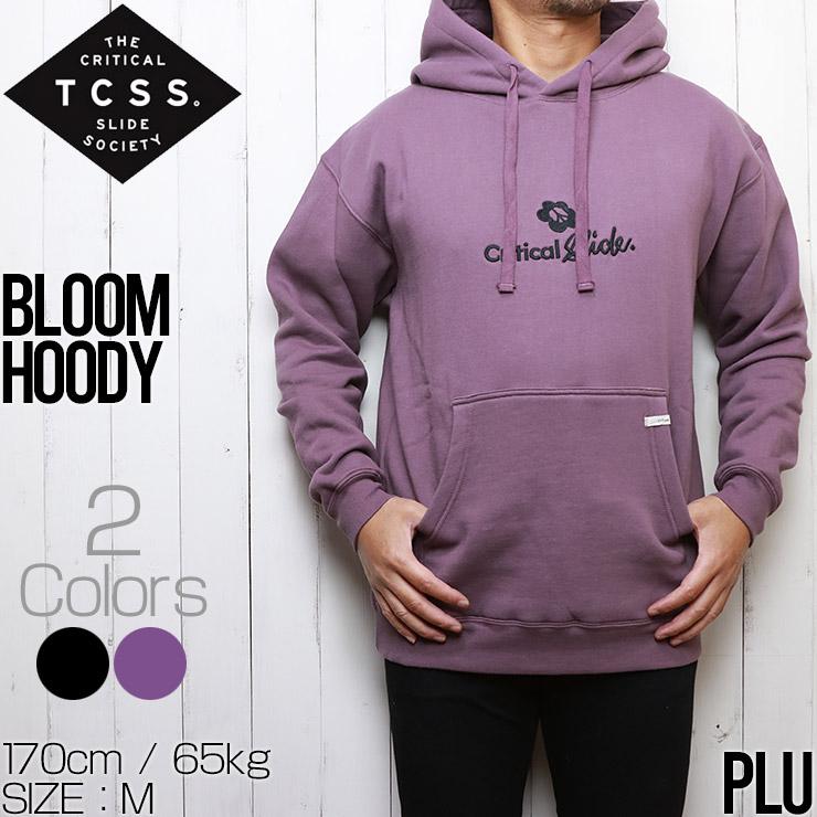 TCSS ティーシーエスエス クリティカルスライド BLOOM HOODY プルオーバーパーカー FC2001