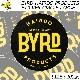 [クリックポスト対応] BYRD バード BYRD LOGO STICKER CIRCLE L ステッカー