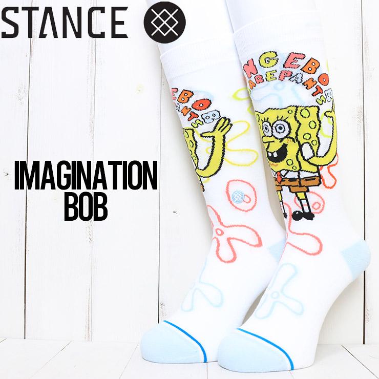 [クリックポスト対応] STANCE スタンス IMAGINATION BOB SOCKS ソックス 靴下 A545A21BOB