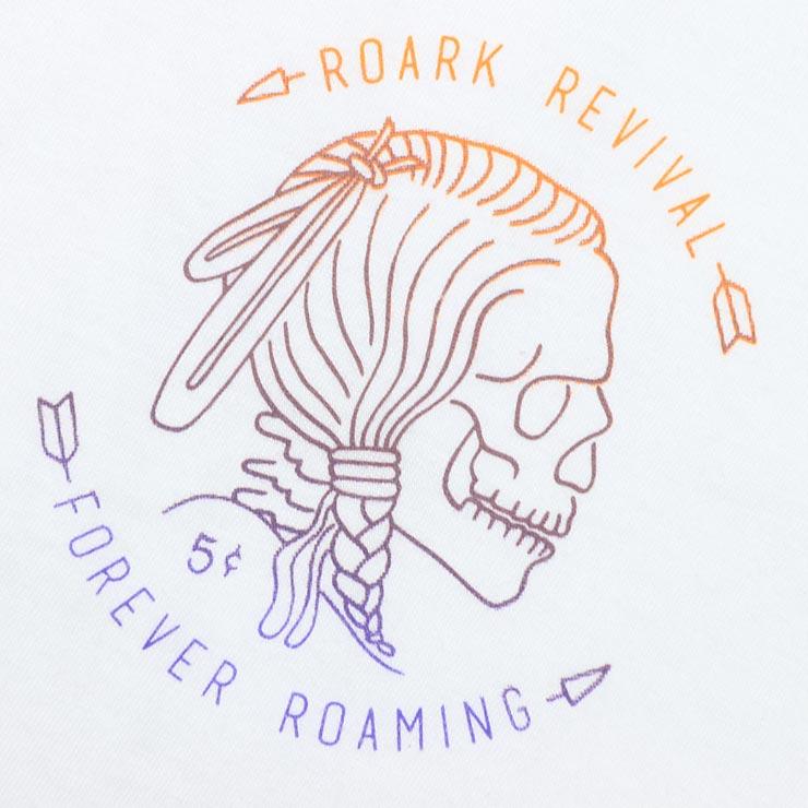 [クリックポスト対応] THE ROARK REVIVAL ロアークリバイバル HOBO NICKEL STAPLE S/S TEE 半袖Tシャツ RT478