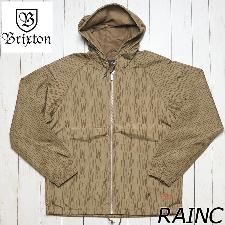 [クリックポスト対応] BRIXTON ブリクストン CLAXTON JACKET ナイロンジャケット 03130 RAINC