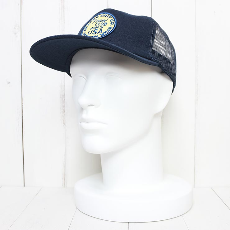SEAGER シーガー THE CHIEF SNAPBACK メッシュキャップ NAVY