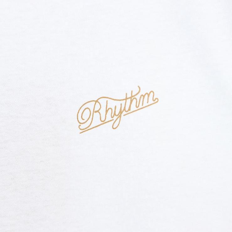 [クリックポスト対応] Rhythm リズム SCRIPT S/S TEE 半袖Tシャツ APR19M-PT01