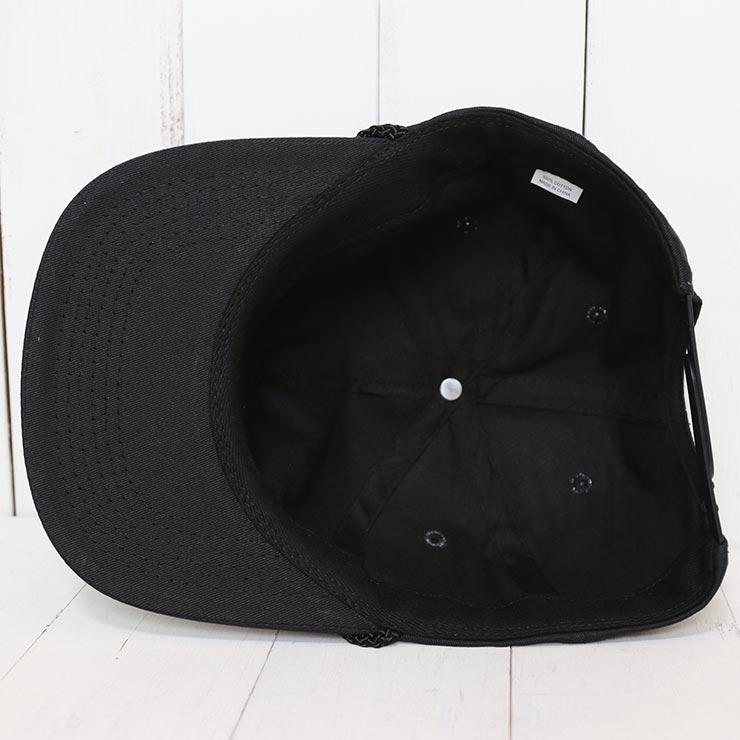 ALMOND SURF アーモンドサーフ PWYL HAT スナップバックキャップ BLACK
