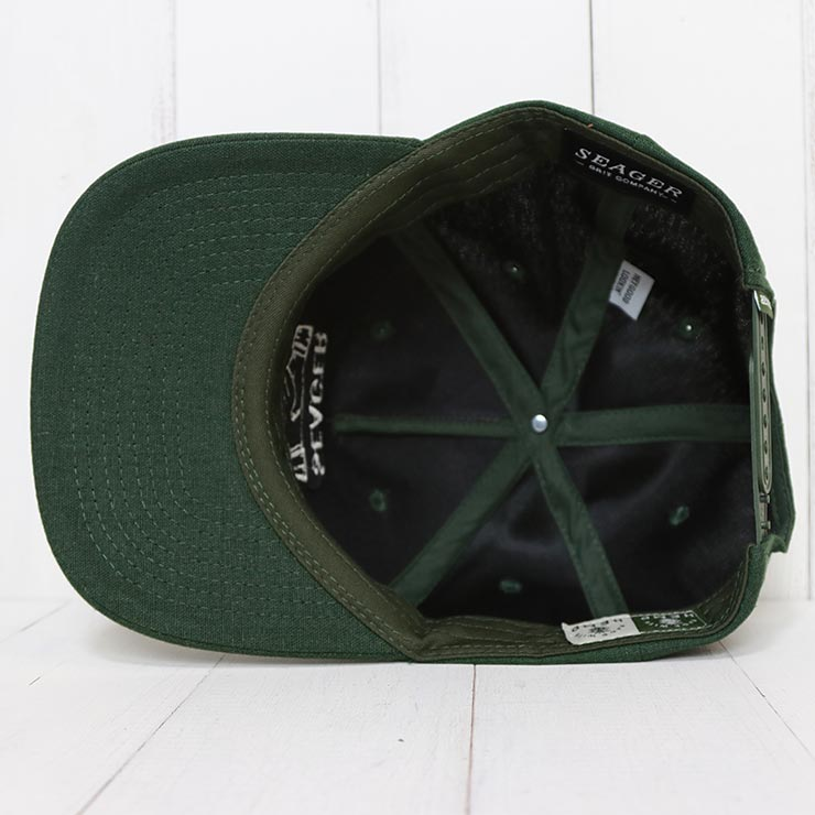 SEAGER シーガー SEAGER CO.MMUNITY SNAPBACK スナップバックキャップ
