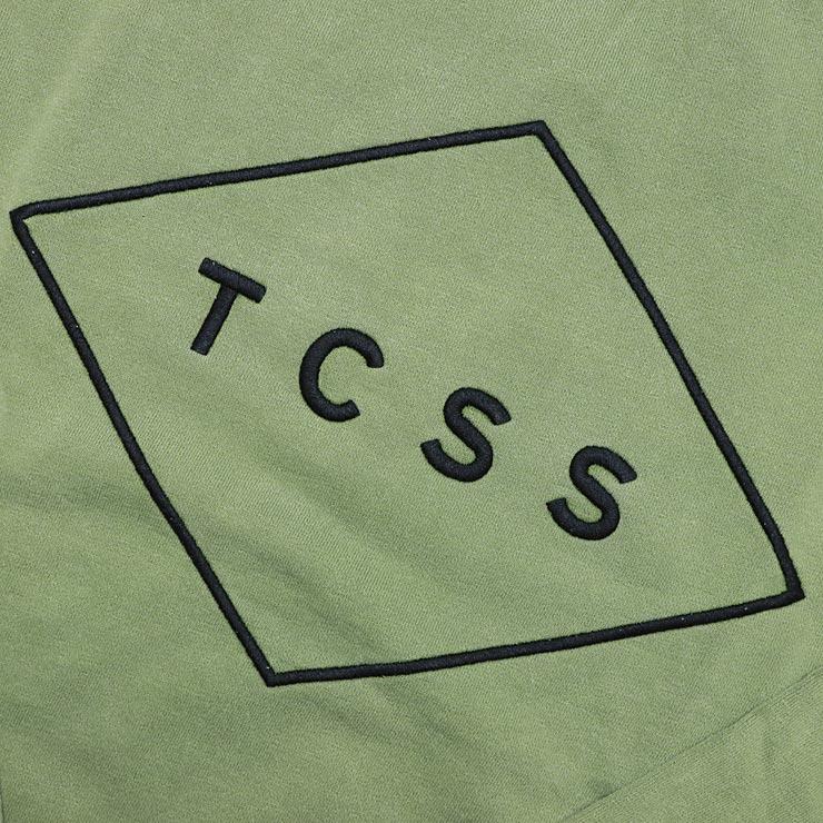 [クリックポスト対応] TCSS ティーシーエスエス STANDARD CREW スウェットトレーナー FC1815