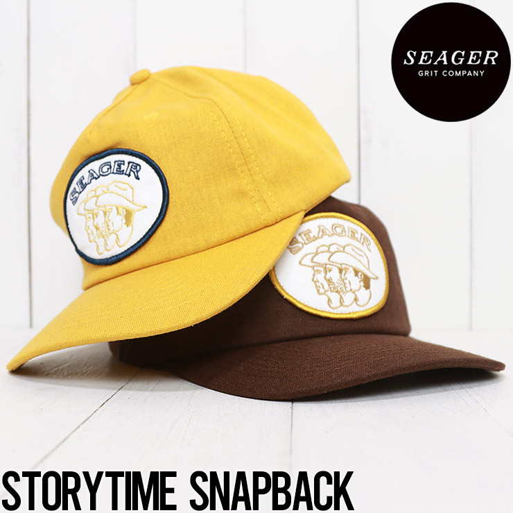 SEAGER シーガー STORYTIME SNAPBACK スナップバックキャップ