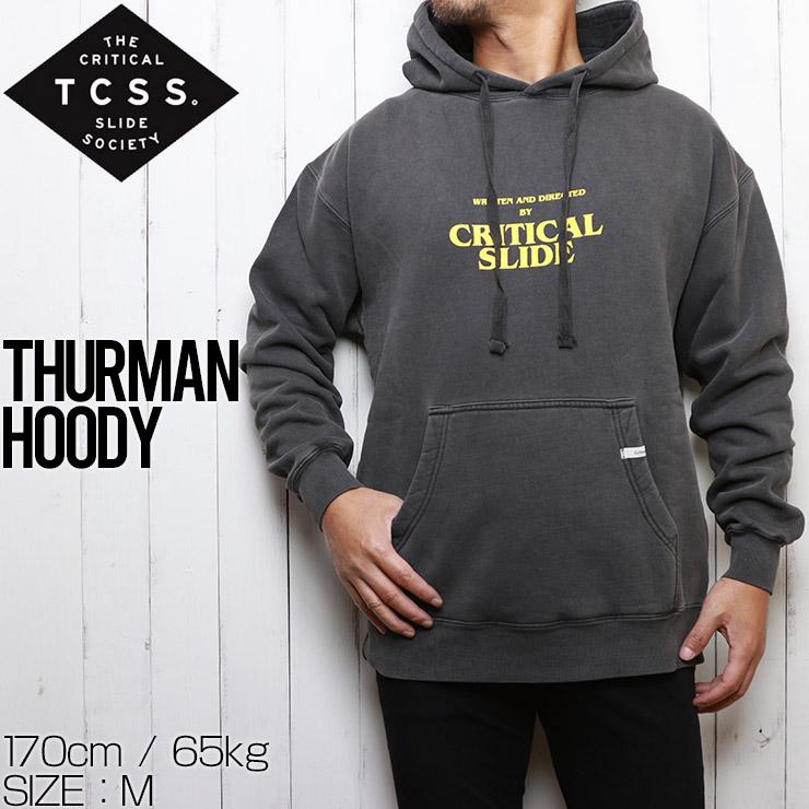 TCSS ティーシーエスエス クリティカルスライド THURMAN HOODY プルオーバーパーカー FC2003