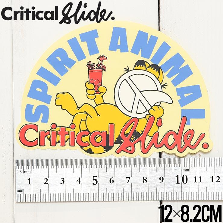 【送料無料】Critical Slide クリティカルスライド TCSS ティーシーエスエス STICKER ステッカー The Critical Slide Society STICKV9 #6