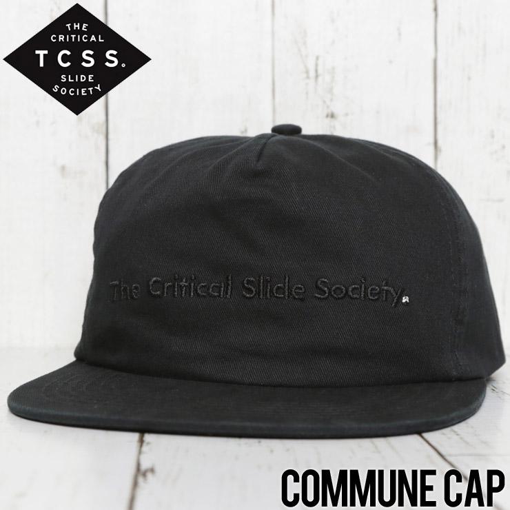 TCSS ティーシーエスエス COMMUNE CAP スナップバックキャップ HW1802