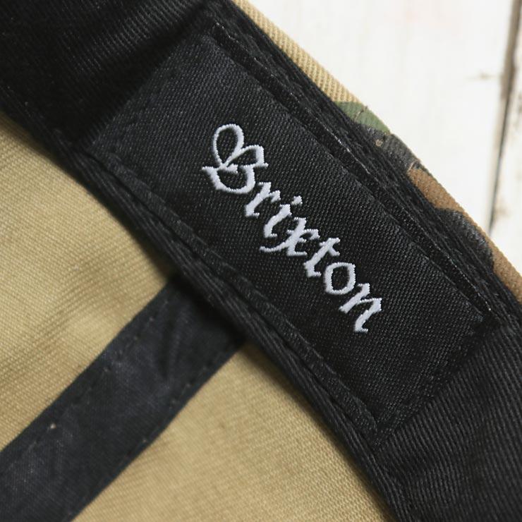 【送料無料】 BRIXTON ブリクストン STITH LP STRAPBACK CAP ストラップバックキャップ 00953 CAMO [FB]