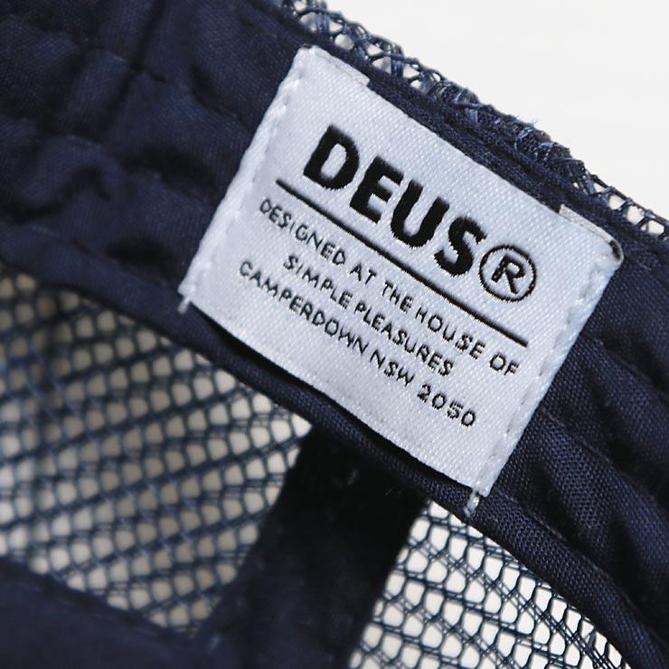 Deus Ex Machina デウスエクスマキナ MARLE VENICE TRUCKER HAT メッシュキャップ DMP97727B