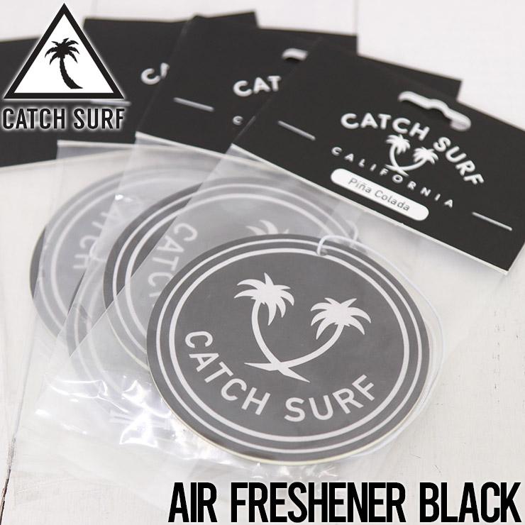 [クリックポスト対応] CATCH SURF キャッチサーフ AIR FRESHENER エアフレッシュナー BLACK