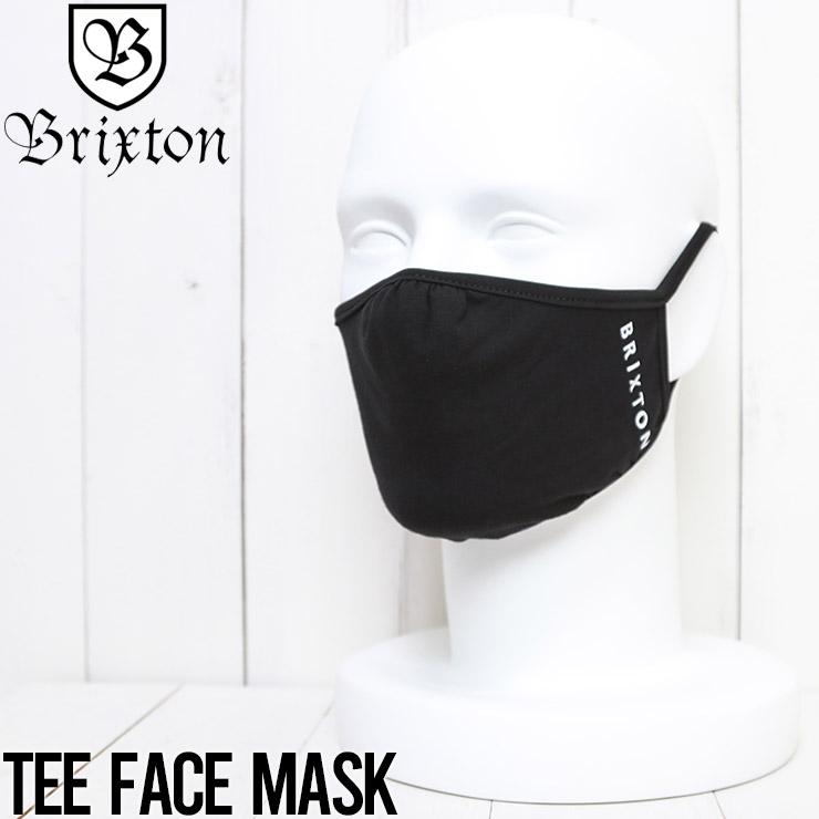 [クリックポスト対応] BRIXTON ブリクストン TEE FACE MASK マスク フェイスマスク ファッションマスク 05396