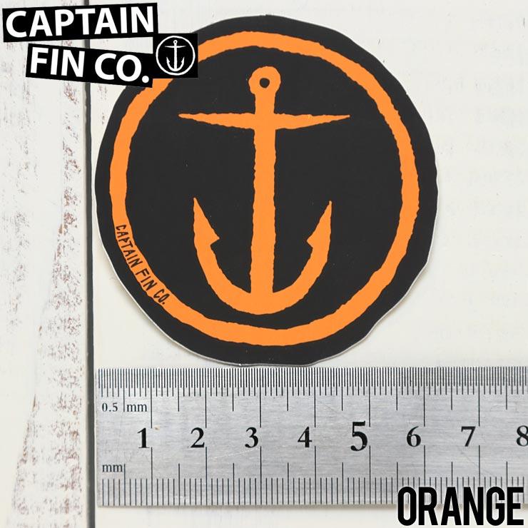 [クリックポスト対応] CAPTAIN FIN キャプテンフィン ORIGINAL ANCHOR STICKER 2.5 ステッカー中 CFA6811502