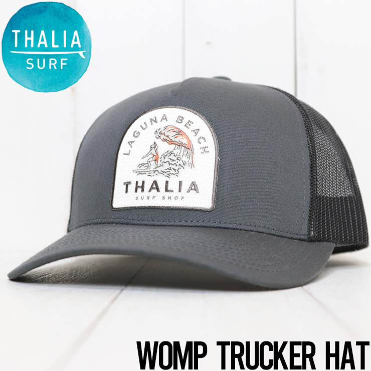 【送料無料】 THALIA SURF タリアサーフ WOMP TRUCKER HAT メッシュキャップ