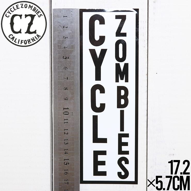 [クリックポスト対応] Cycle Zombies サイクルゾンビーズ CZ BUMPER STICKER ステッカー CZ-BSTK-001AST #1