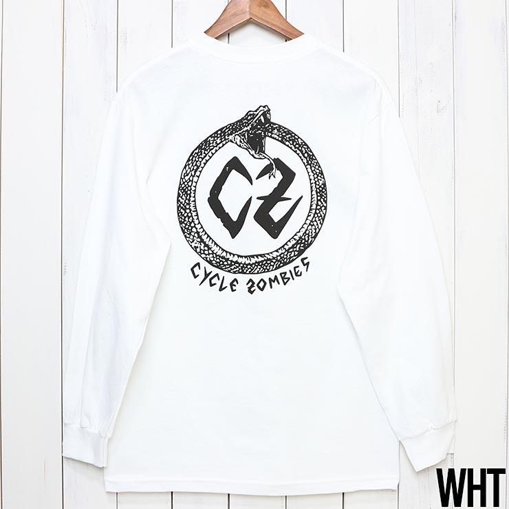 [クリックポスト対応] Cycle Zombies サイクルゾンビーズ VENOM L/S TEE ロンT ロングスリーブTシャツ CZ-MPLST-012