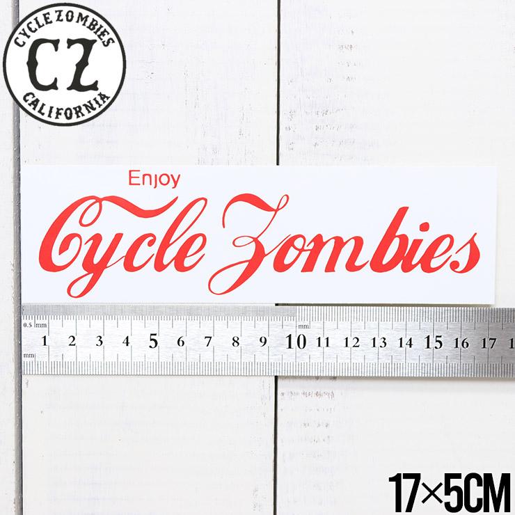 [クリックポスト対応] Cycle Zombies サイクルゾンビーズ CZ BUMPER STICKER ステッカー CZ-BSTK-001AST #2