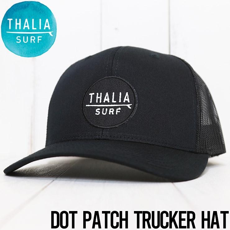 【送料無料】 THALIA SURF タリアサーフ DOT PATCH TRUCKER HAT メッシュキャップ