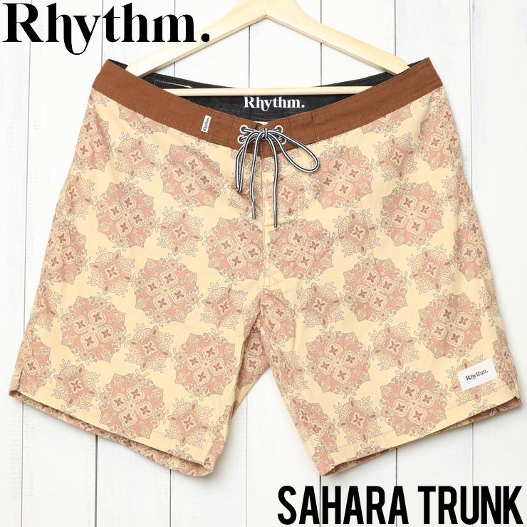 [クリックポスト対応] Rhythm リズム SAHARA TRUNK ボードショーツ JAN19M-TR07