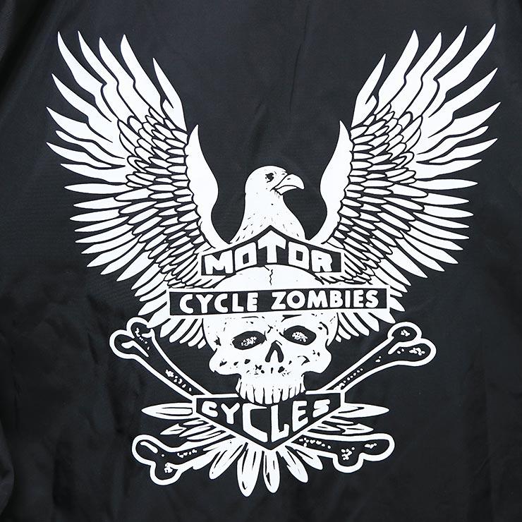 [クリックポスト対応] Cycle Zombies サイクルゾンビーズ SALUTE COACHES JACKET コーチジャケット CZ-CJKT-015