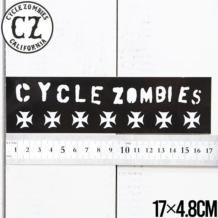 [クリックポスト対応] Cycle Zombies サイクルゾンビーズ CZ BUMPER STICKER ステッカー CZ-BSTK-001AST #3
