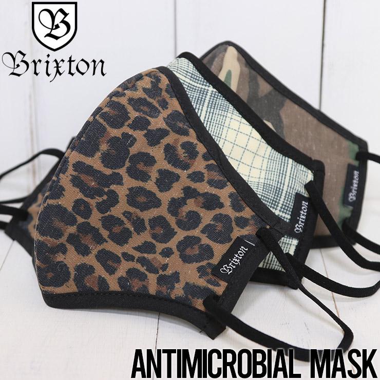 [クリックポスト対応] BRIXTON ブリクストン ANTIMICROBIAL 4-WAY STRECHMASK マスク フェイスマスク ファッションマスク 05367