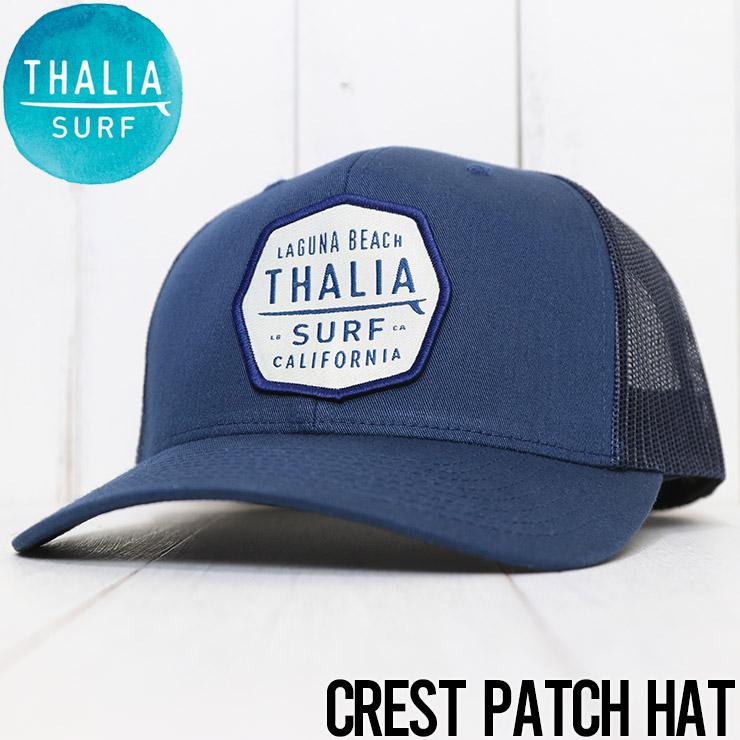 THALIA SURF タリアサーフ CREST PATCH CAP メッシュキャップ NAVY