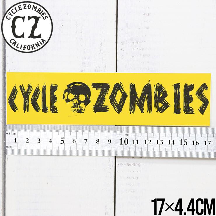 [クリックポスト対応] Cycle Zombies サイクルゾンビーズ CZ BUMPER STICKER ステッカー CZ-BSTK-001AST #4