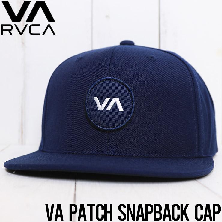 【送料無料】 RVCA ルーカ VA PATCH SNAPBACK HAT スナップバックキャップ MAHWVRVP NVY [FB]
