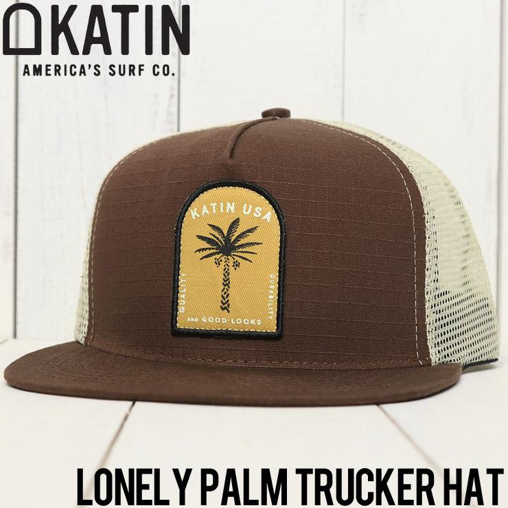 KATIN ケイティン LONELY PALM TRUCKER HAT メッシュキャップ HTLON03