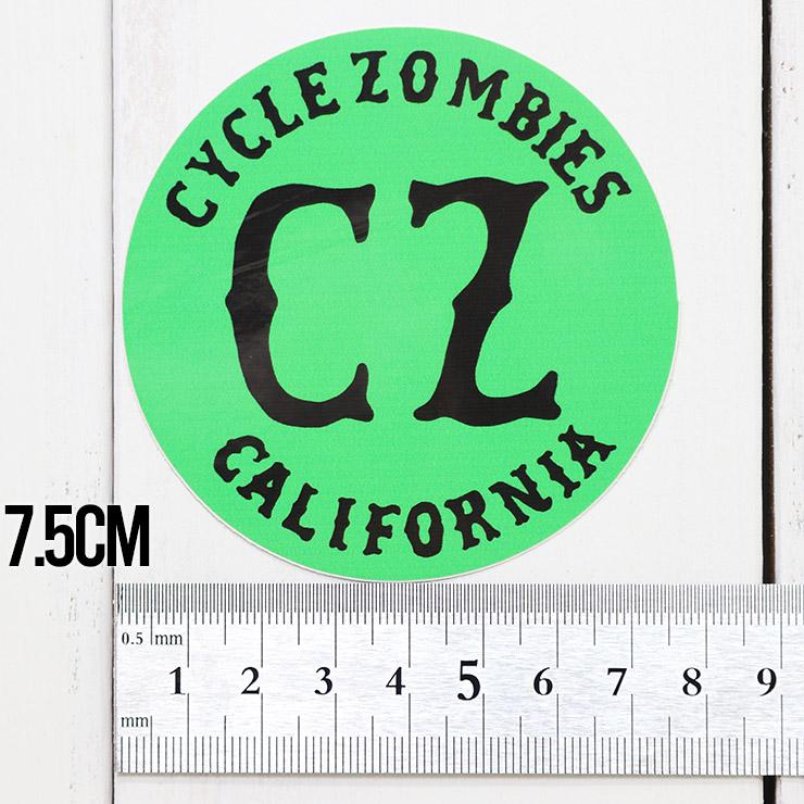 [クリックポスト対応] Cycle Zombies サイクルゾンビーズ CZ STICKER ステッカー CZ-STK-001 #10