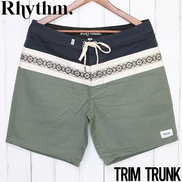 [クリックポスト対応] Rhythm リズム TRIM TRUNK ボードショーツ APR20M-TR02