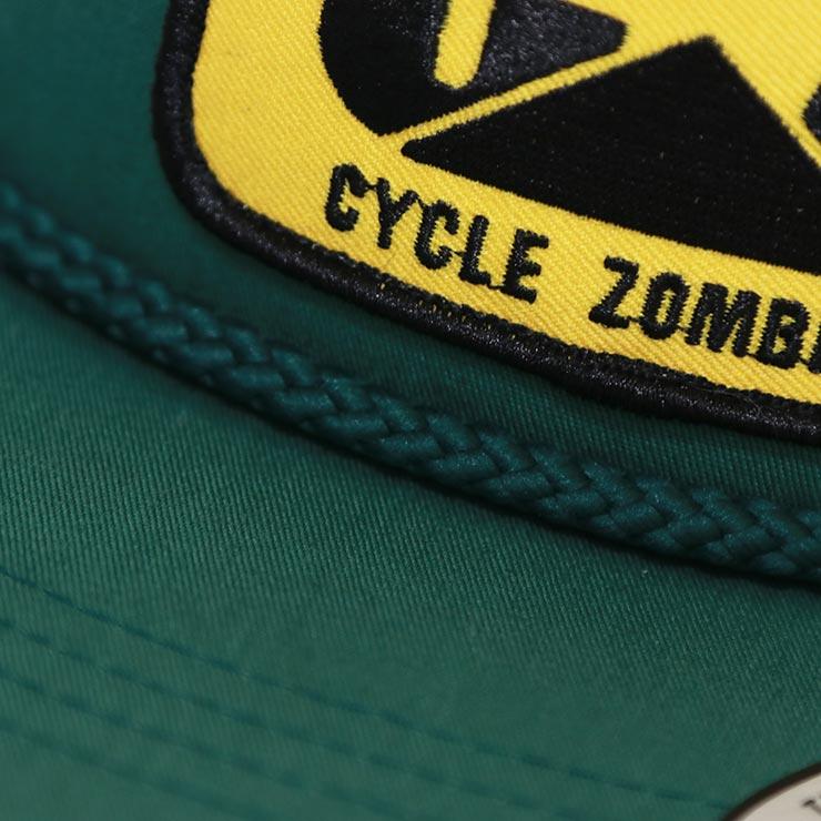 【送料無料】 Cycle Zombies サイクルゾンビーズ 9-5 GOLF HAT スナップバックキャップ CZ-GFSB-030