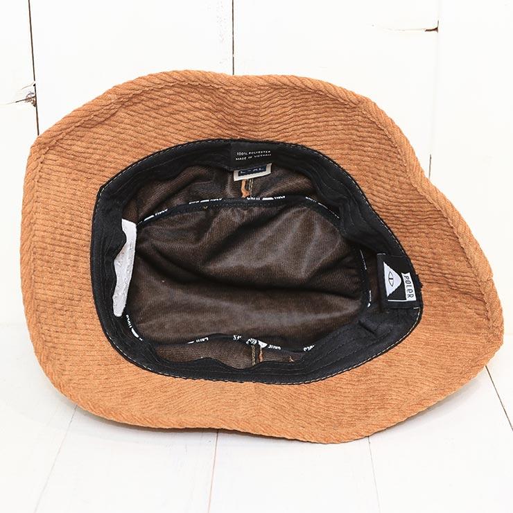 [クリックポスト対応] POLeR ポーラー VIBES BRAND BUCKET HAT ハット バケットハット 212ACU7101