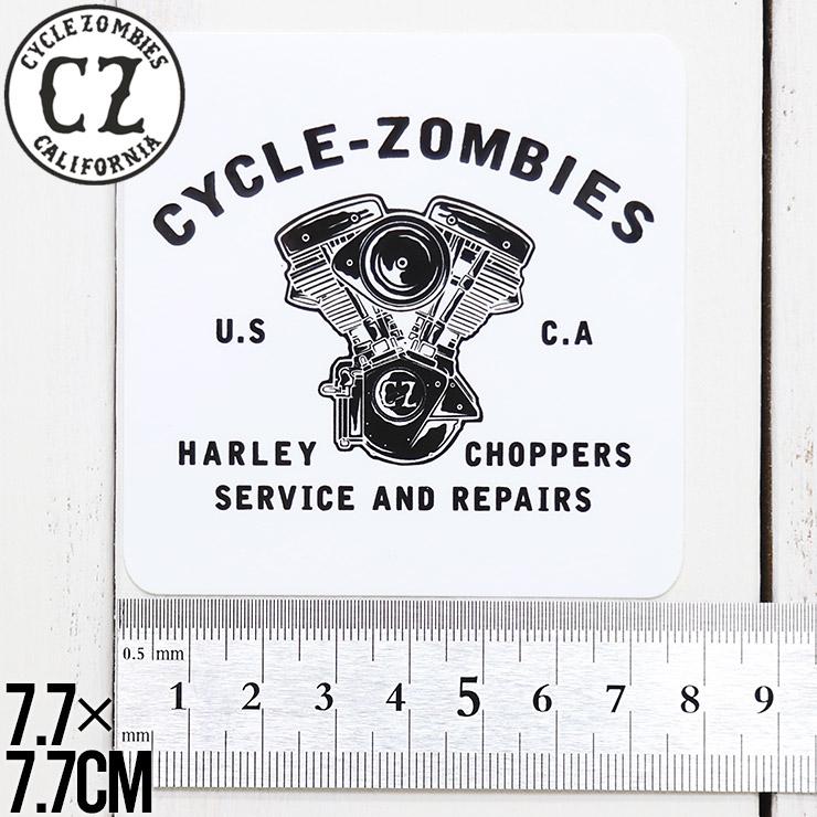 [クリックポスト対応] Cycle Zombies サイクルゾンビーズ CZ STICKER ステッカー CZ-STK-001 #11