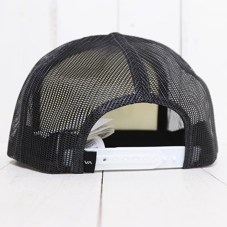 【送料無料】 RVCA ルーカ STAPLE FOAMY TRUCKER HAT メッシュキャップ AVYHA00153 [FB]