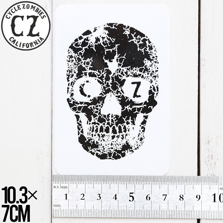 [クリックポスト対応] Cycle Zombies サイクルゾンビーズ CZ STICKER ステッカー CZ-STK-001 #12