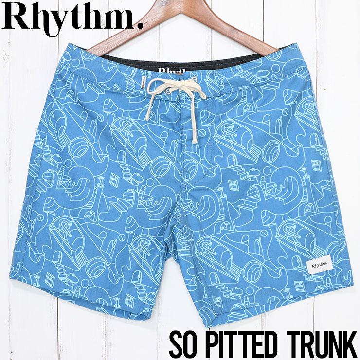 [クリックポスト対応] Rhythm リズム SO PITTED TRUNK ボードショーツ APR20M-TR09