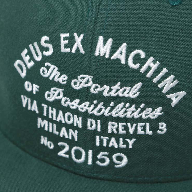 DEUS EX MACHINA デウスエクスマキナ MILAN BASEBALL CAP スナップバックキャップ DMP77460B